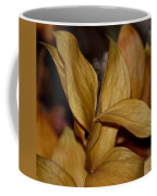 Golden Leafed Abstract 2013 Coffee Mug