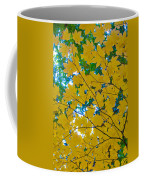 Golden Leaves Of Autumn Coffee Mug