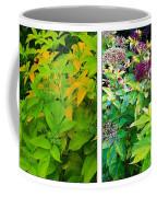 Golden Leaves To Purple Seeds Coffee Mug