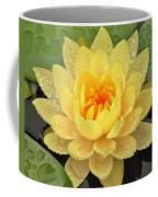 Golden Lily Coffee Mug
