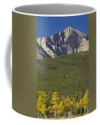 Golden Longs Peak View Coffee Mug