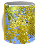 Golden Medallion Shower Tree Coffee Mug