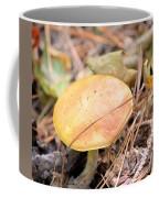 Golden Mushroom Coffee Mug