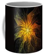 Golden Poinsettia Coffee Mug