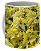 Golden Poinsettias Coffee Mug