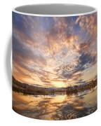 Golden Ponds Scenic Sunset Reflections 3 Coffee Mug