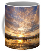 Golden Ponds Scenic Sunset Reflections 5 Coffee Mug