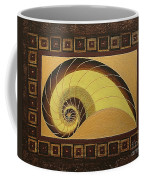 Golden Ratio Spiral Coffee Mug