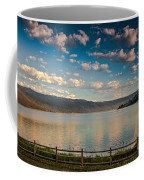 Golden Reflection On Lake Cascade Coffee Mug by Robert Bales