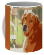 Golden Retriever Profile Coffee Mug