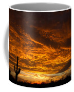 Golden Saguaro Coffee Mug