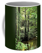 Golden Silence In The Forest Coffee Mug
