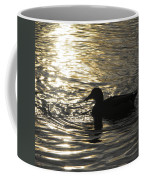 Golden Silhouette  Coffee Mug
