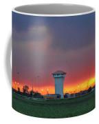 Golden Spike Sunset Panorama Coffee Mug