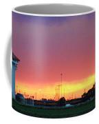 Golden Spike Sunset Coffee Mug