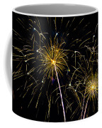 Golden Starburst Coffee Mug