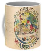 Golden State Warriors Logo Art Coffee Mug