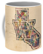 Golden State Warriors Poster Vintage Coffee Mug