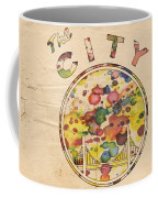 Golden State Warriors Retro Art Coffee Mug
