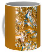 Golden Steel Swirl Coffee Mug