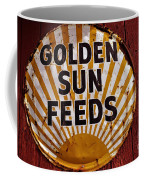 Golden Sun Feeds Coffee Mug