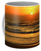 Golden Sun Up Reflection Coffee Mug