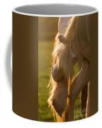 Golden Sunlight In The Mane Coffee Mug