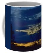 Golden Sunrise Into The Blue Coffee Mug