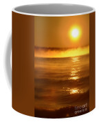 Golden Sunrise Over The Water Coffee Mug