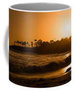 Golden Sunset At Laguna Coffee Mug