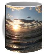 Golden Sunset  Clouds Coffee Mug