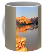 Golden Sunset On The Colorado Coffee Mug
