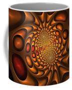 Golden Vortex Coffee Mug
