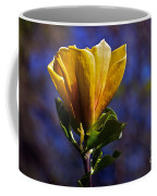 Golden Yellow Magnolia Blossom Coffee Mug