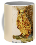 Goldene Bier Eule Coffee Mug
