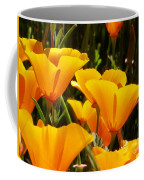 Golden Poppies Coffee Mug