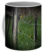 Goldfinch Gathering Coffee Mug