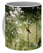 Goldfinch On The Lookout -19 Coffee Mug