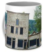 Goldrush Heritage Buildings In Dawson City Yukon Coffee Mug