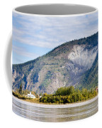 Goldrush Town Dawson City From Yukon River Canada Coffee Mug