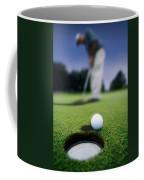 Golf Ball Near Cup Coffee Mug