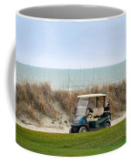 Golf Cart At Kiawah Island Golf Course Coffee Mug