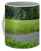 Golf Course Lay Up Coffee Mug by Frozen in Time Fine Art Photography