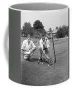 Golf Green Experiments Coffee Mug