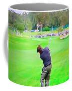Golf Swing Drive Coffee Mug