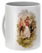 Golfing Coffee Mug by Ellen Hattie Clapsaddle