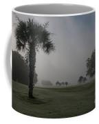 Golfing In The Fog Coffee Mug