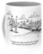 Golfing Through A Warzone Coffee Mug