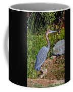 Goliath Heron By Water Coffee Mug