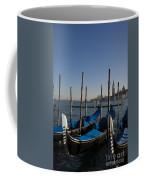 Gondolas In The Bacino Di San Marco Coffee Mug